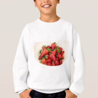 Organische Aardbeien in een Vergiet Trui