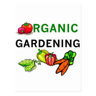 Organische het Tuinieren T-shirts en Giften Briefkaart