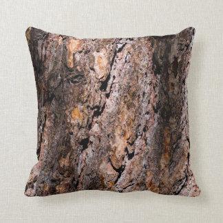 Organische Textuur 5 van de Schors Sierkussen
