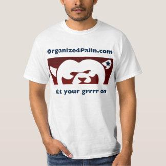 Organize4Palin.com BasisT-shirt T Shirt
