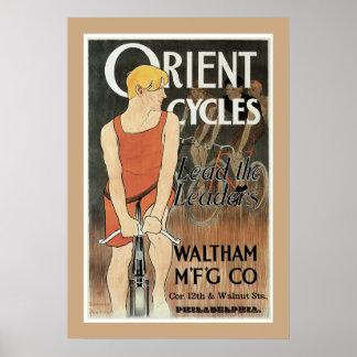 Oriënteer het poster van Cycli