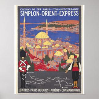 Oriënteer Uitdrukkelijk aan Constantinopel Poster
