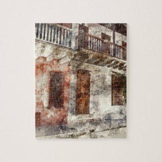 Origineel kunstwerk van van Cartagen Colombia Puzzel