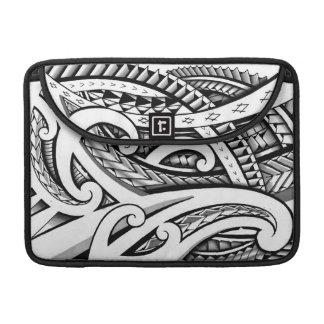 Origineel stammen het tattooontwerp van Maori met MacBook Pro Sleeve