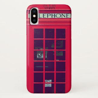 Originele Britse telefoondoos iPhone X Hoesje