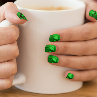 Originele Gelukkige St Patrick Minx Nails Minx Nail Art