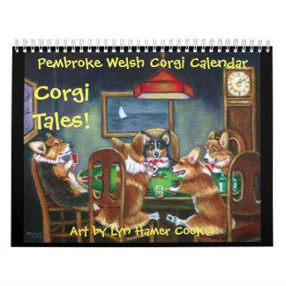 Originele Kalender van de Verhalen van Corgi Corgi