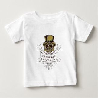 originele kledings enge schedel baby t shirts