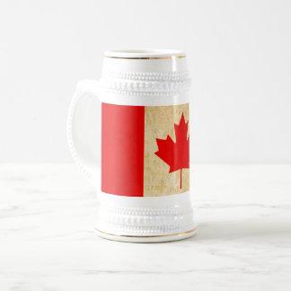 Originele Vintage Patriottische Nationale Vlag van Bierpul