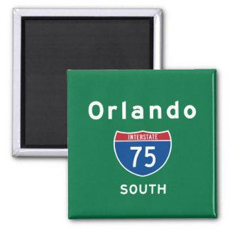 Orlando 75 vierkante magneet