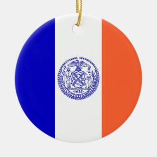 Ornament met vlag van New York