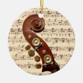 Ornament - Rol met bladmuziek
