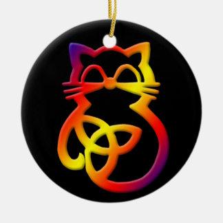 Ornament van de Kat van de Knoop van de