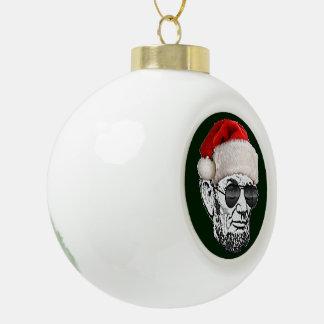 Ornament van de Kerstboom van de Kerstman van Linc