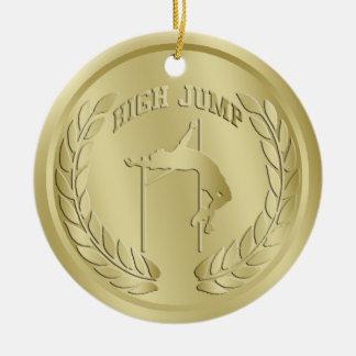 Ornament van de Medaille van hoogspringen het Goud