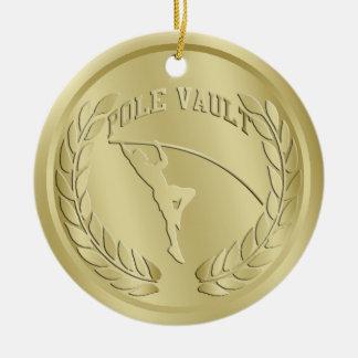 Ornament van de Medaille van polsstokspringen het