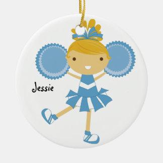 Ornament van de Naam van de Douane Cheerleader van