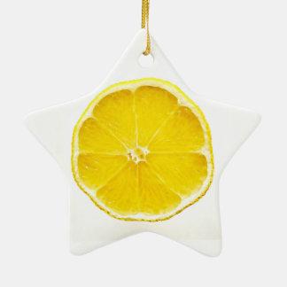 Ornament van de Ster van de citroen het Plak