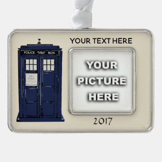 Ornament van de Telefooncel van de politie het