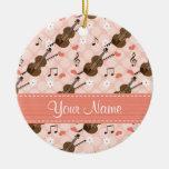 Ornament van de Viool van de Nota van de Muziek