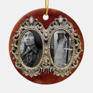 Ornament van het Lijst van de Foto van de douane