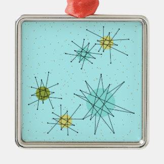 Ornament van Kerstmis Starbursts van het Ei van