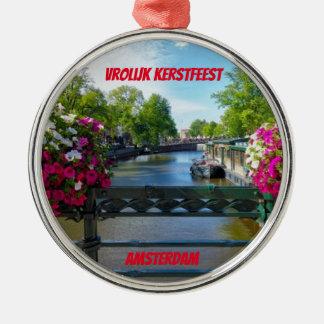 Ornament van Kerstmis van de Brug van Amsterdam