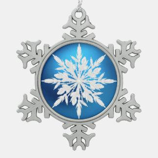 Ornament van Kerstmis van de Sneeuwvlok van het kr