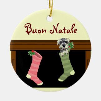 Ornament van Kerstmis van Natale van Buon het