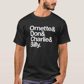 Ornette & trekt & Charlie & Billy aan T Shirt