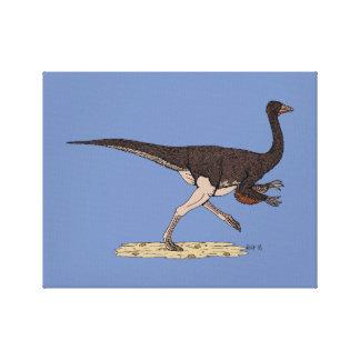 Ornithomimus Canvas Afdruk