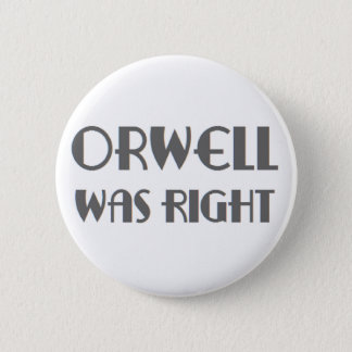 orwell was juist ronde button 5,7 cm