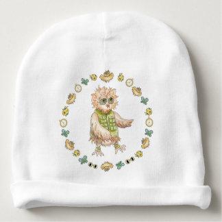 Oscar Owl Baby Hat Baby Mutsje