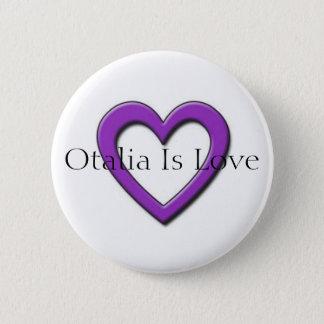 Otalia is de Knoop van de Liefde Ronde Button 5,7 Cm