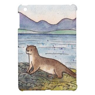 otter van loch iPad mini cover