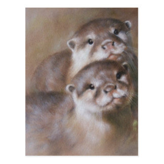 Otters Briefkaart