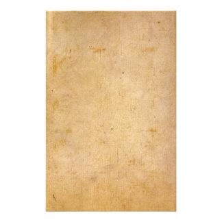 Oud Antiek Perkament Briefpapier