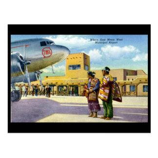 Oud Briefkaart - Albuquerque, New Mexico