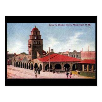 Oud Briefkaart - Albuquerque, New Mexico, de V.S.