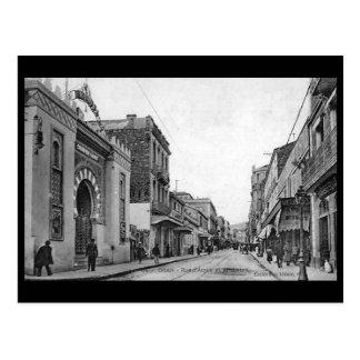 Oud Briefkaart - Algerije, Oran, Rue d'Arzew