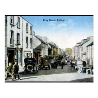 Oud Briefkaart - Ballina, Co Mayo, Ierland