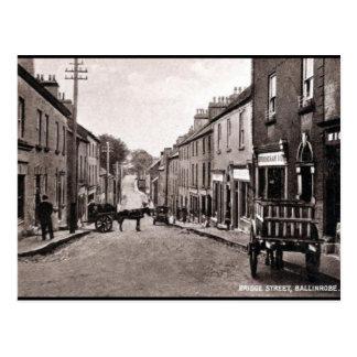 Oud Briefkaart - Ballinrobe, Co Mayo, Ierland