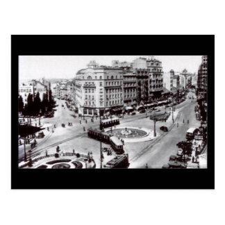 Oud Briefkaart, Belgrado, Terazije in 1939 Briefkaart