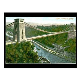 Oud Briefkaart - Bristol, Hangbrug Clifton