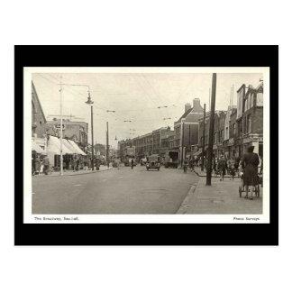 Oud Briefkaart, Broadway, Southall Briefkaart