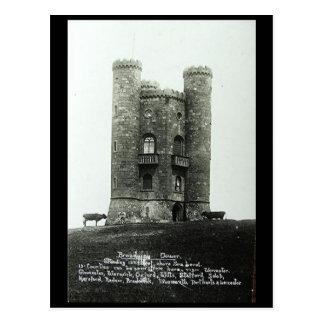 Oud Briefkaart - Broadway Toren, Worcestershire