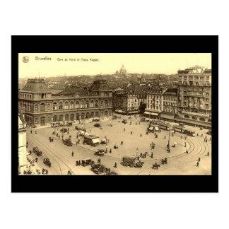 Oud Briefkaart - Brussel