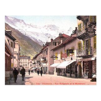 Oud Briefkaart - Chamonix, Haute Savoie