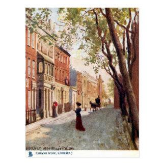 Oud Briefkaart - Cheyne Rij, Chelsea