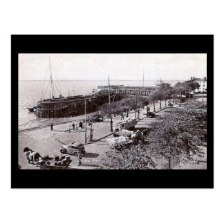 Oud Briefkaart - de Pijler van Victoria, Hull,